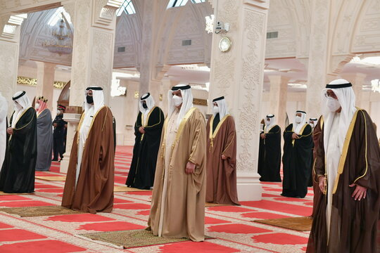 Bahrain's prime minister laid to rest