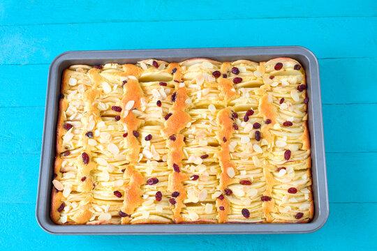 Apfel- Blechkuchen