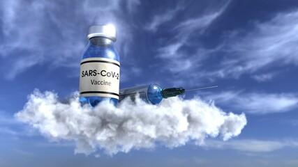 Vaccine in the sky