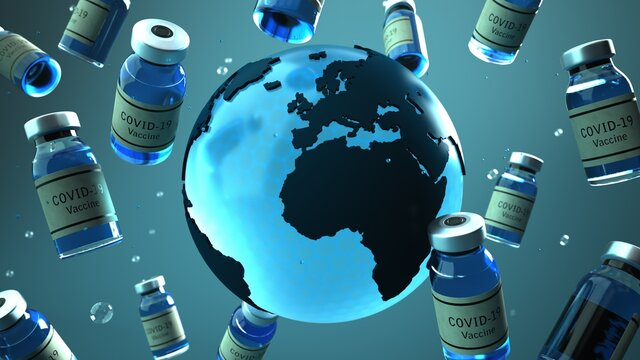 Impfstoff Verteilung in der Welt