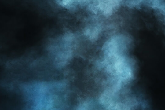 Abstract background with smoke on a dark background. Dramatic smoke in the room - overlay for Photoshop.
