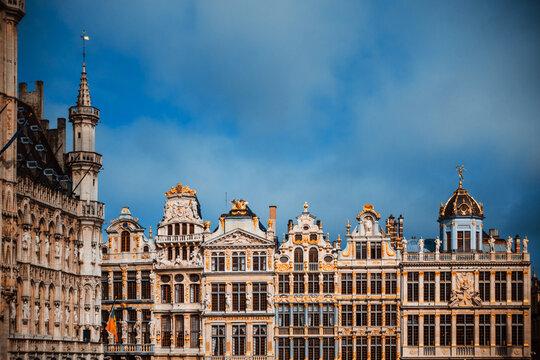 Grand Square in Brussels city, Belgium