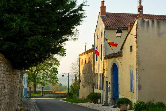 Old buildings, Charroux, Allier, Auvergne, France