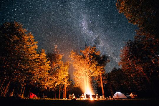Campfire at Midnight