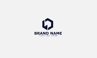 Fototapeta LD Logo Design Template Vector Graphic Branding Element. obraz