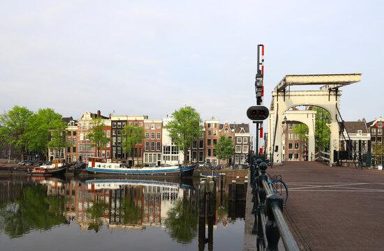 amsterdam city scape