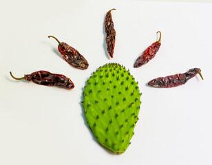 Door stickers Cactus