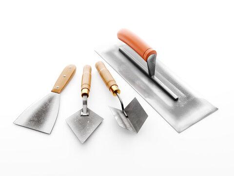 Plasterer's basic tools