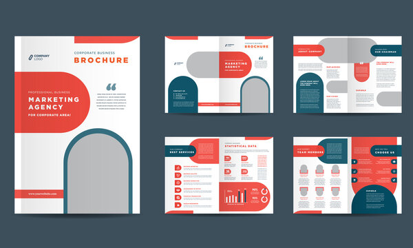 Corporate Business Brochure Design, Annual Report and Company Profile, Booklet and Catalog