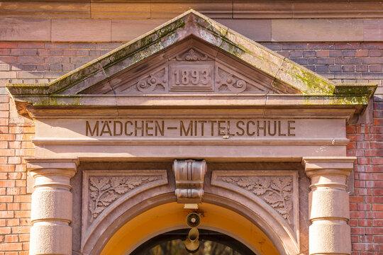 Mädchen-Mittelschule in Esslingen am Neckar