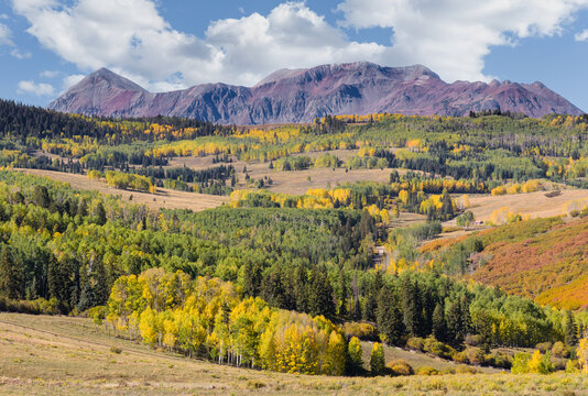 The San Juan Mountains of Colorado in Autumn