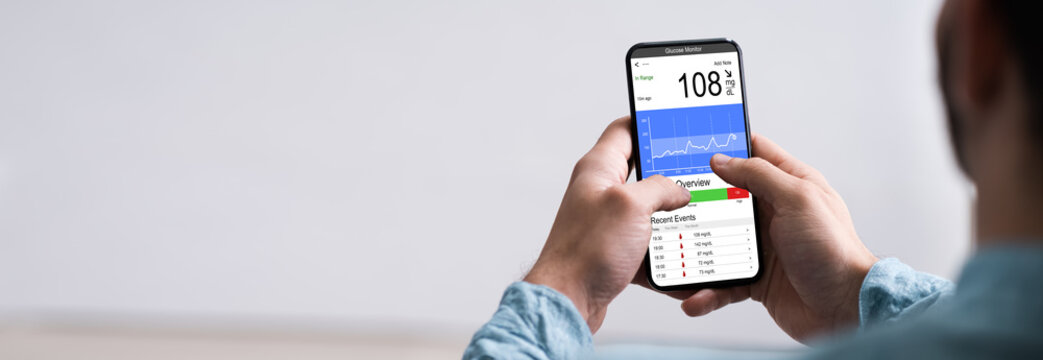 Continuous Glucose Monitor Blood Sugar App