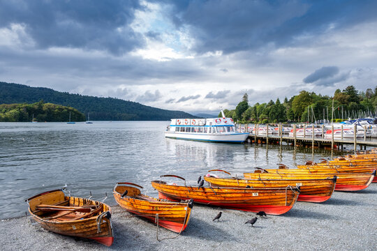 Lake Windermere on the beautiful Lake District in England