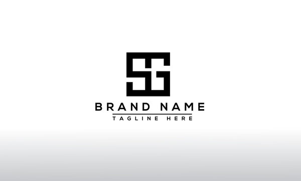 SG Logo Design Template Vector Graphic Branding Element.