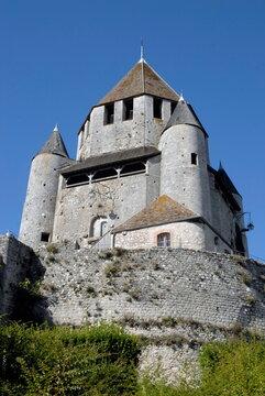 ville de Provins, cité médiévale, la Tour César (XIIe siècle), département de Seine-et-Marne, France