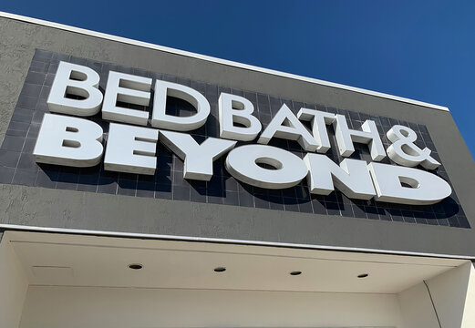 Bed Bath and Beyond, an American chain selling domestic merchandise, with stores in the US, Puerto Rico, Canada & Mexico.