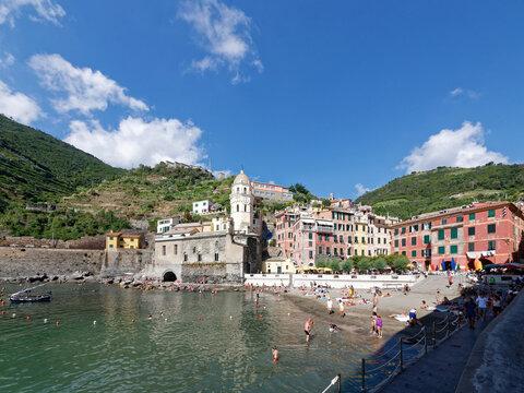Italien - Cinque Terre - Vernazza - Strand
