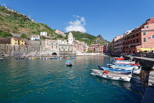 Italien - Cinque Terre - Vernazza - Hafen