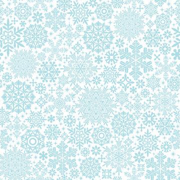 雪の結晶とドイリーの背景 ウィンターセール