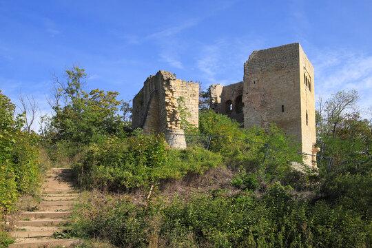 Lobdeburg castle ruins, Jena - Thuringia, Germany