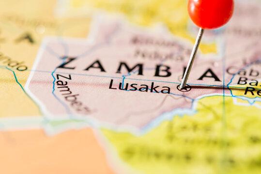 Lusaka, Zambia.