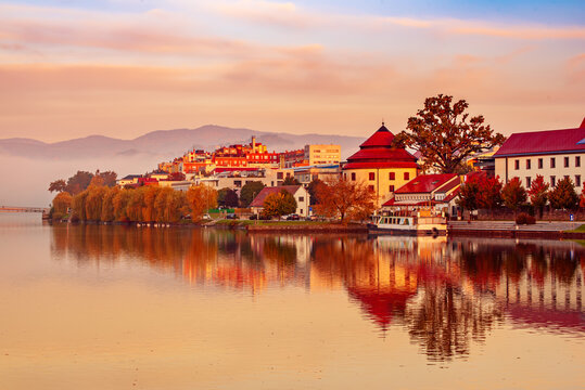 Sunrise at Maribor