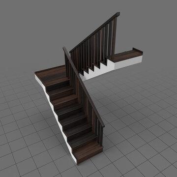 Half landing staircase