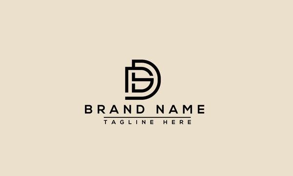 SD Logo Design Template Vector Graphic Branding Element.