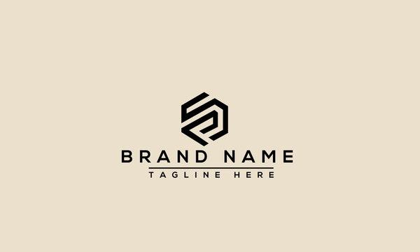SP Logo Design Template Vector Graphic Branding Element.