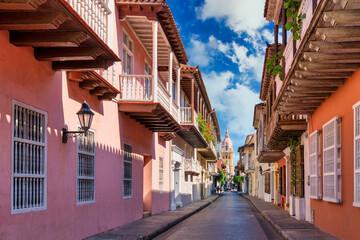 Walking around Cartagena streets