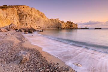 Coastal landscape near Kalo Nero village in southern Crete.