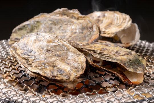 焼き牡蠣【秋の味覚】