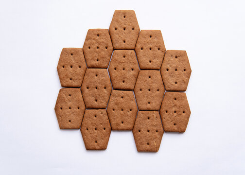 shortbread cookies with cocoa