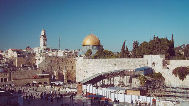 Israel, Jerusalem, Felsendom