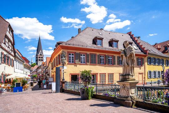 Altstadt, Ettlingen, Deutschland