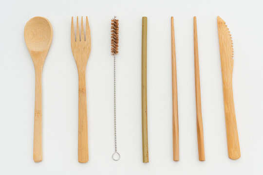 Reusable cutlery set design resources