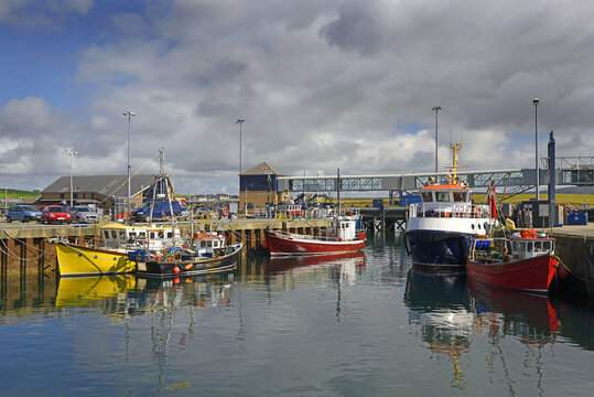 Port of Stromness. Stromness locally is the second-most populated town in Orkney. It is in the southwestern part of Mainland Orkney.