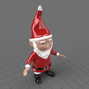 Santa garden gnome