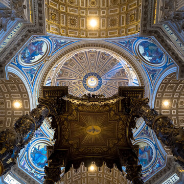 Saint Peter in Rome: Cupola Decoration