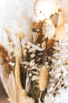Closeup Blumenstrauss im Sonnenlicht