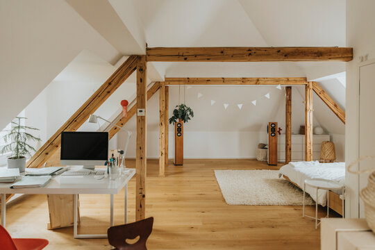 Beautiful apartment of old structure house