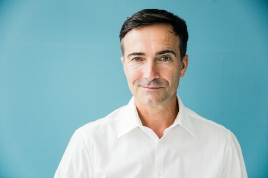 Portrait of confident mature businessman