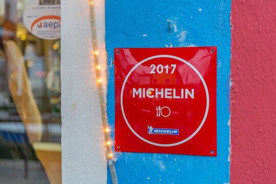 Michelin Guide Red Point Italy