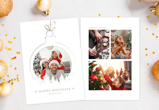 Christmas Family Greeting Card