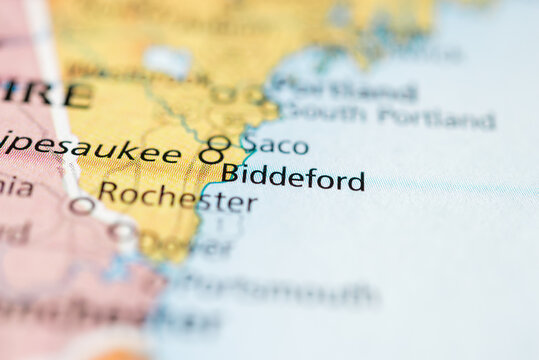 Biddeford, Maine, USA.