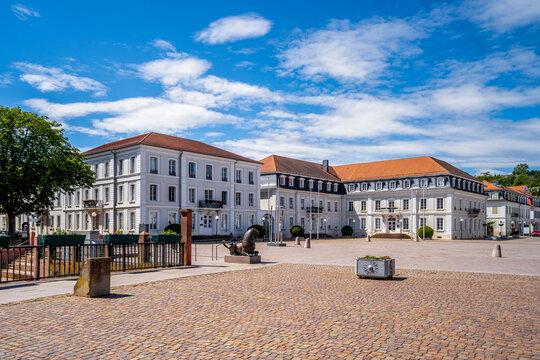 Herzogplatz, Zweibrücken, Rheinland-Pfalz, Deutschland