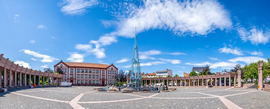 Exerzierplatz, Pirmasens, Rheinland-Pfalz, Deutschland