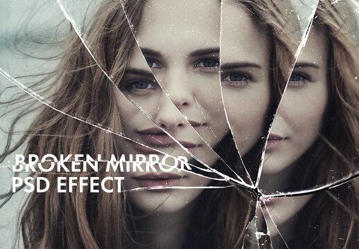 Broken Mirror Psd Effect
