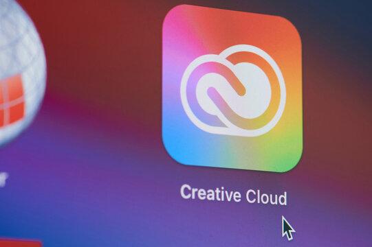Using Adobe creative cloud