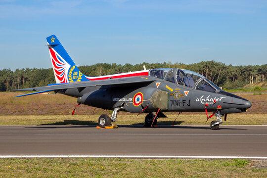 French Air Force Dassault Alpha Jet trainer aircraft